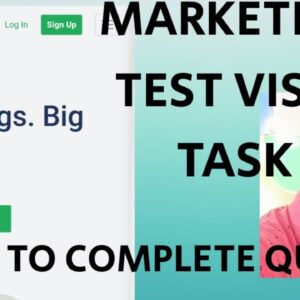STEPS TO COMPLETE MARKETING TASK VISIT TASK QUICKLY #PICOWORKERS LIVE TASK  2020