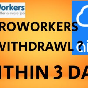 MICROWORKERS 1ST  WITHDRAW COMPLETION  USING AIRTM IN 3 DAYS #MICROWORKERS 2020 (PIN WAIVE)