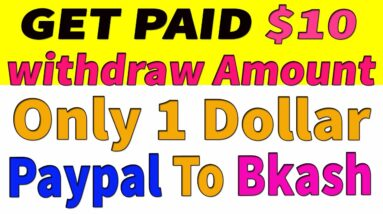 Online income bd payment bkash।। Perday Income $10 USD Payment Bkash I  Withdraw Only If $1 USD