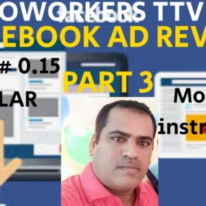 FACEBOOK AD REVIEW JOB PART 3#MICROWORKERSTTVTASK (INSTRUCTION MODIFIED)#VALUE 0.15$