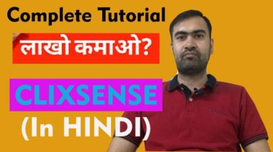 Clixsense - Earn Money By Completing Surveys in [Hindi]