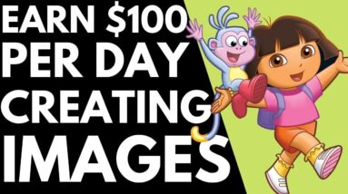 How To Earn $100+ Per Day Creating Image Online / FREE METHOD Of Making Money Online / Worldwide!!!!