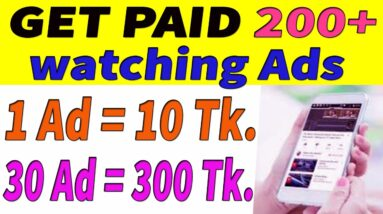 Earn 200 Tk Per Day Bkash Payment Website। Make Money Online BD । Online Income Bangladesh 2020