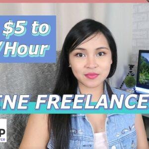 Earn $5-$75 Per Hour as a Freelancer in FreeEUp!