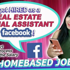 Getting Hired as a Homebased Virtual Assistant in Facebook!