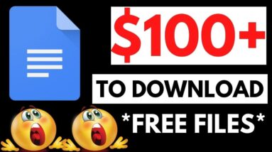 Get Paid $100+ To Download FREE Files! (No Dropshipping, Ecommerce or Shopify) Make Money Online