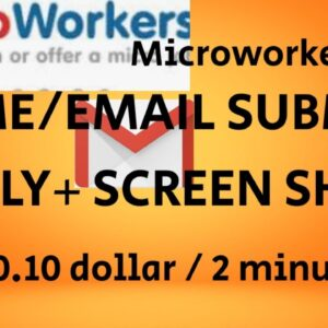 NAME EMAIL SUBMIT+ REPLY+SCREENSHOT (0.10$)#MICROWORKERS