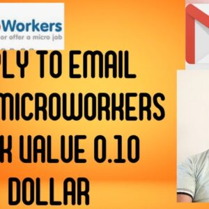 Reply to email easy task 0.10 dollar#microworkers task
