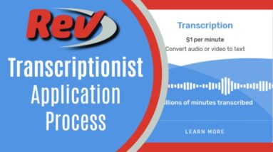 Rev Transcription Test Application Process and Tutorial: How to Pass
