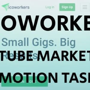 YOUTUBE MARKETING PROMOTION 2X #PICOWORKERS TASK 2020