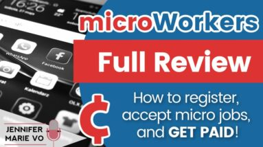 Microworkers Review: How to Make Money from Home doing Micro Tasks and Data Entry Jobs in 2020