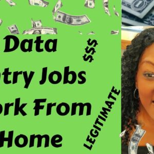 Data Entry Jobs Work From Home | Work From Home Jobs | Micro Jobs