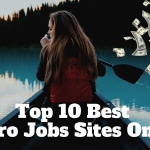 Top 10 best micro jobs sites  | Legit way to make money online | Trusted Part time jobs online.