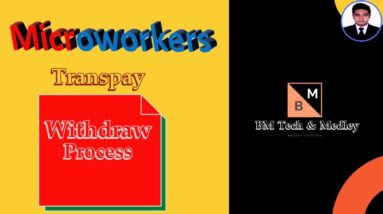 How to withdraw money from Microworkers to Bank Using Transpay | Local Funds Transfer via Transpay
