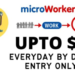 Earn $3-5 Easily Everyday with Data Entry | Microworkers