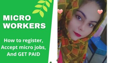 How to create account and earn online money from micro worker.com in hindi/urdu