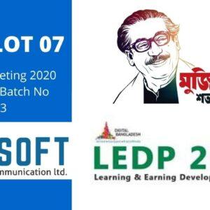 LEDP Digital Marketing 2020 | Gopalganj Batch No 483 Class  Microworkers Earning