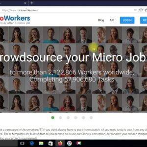 How to Create a Microworkers Account in 1 Minute