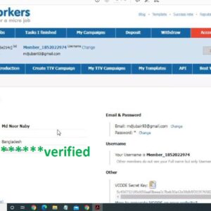 HOW TO CREATE MICROWORKERS ACCOUNT