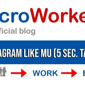 Instagram Like MU (5 sec. task) | Microworkers | Microsolution
