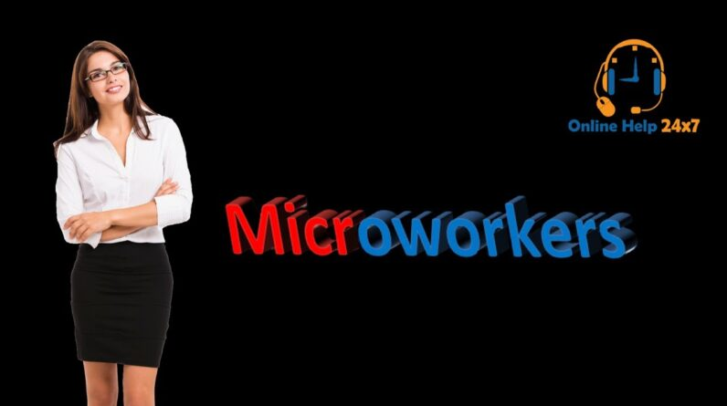 MCW 23 | How to create Microworkers Account | Microworkers admission test