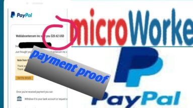 (Microworkers)50$ every day- (microworkers payment proof)