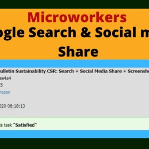 Microworkers search engage | Microworkers google search | Earn from Microworkers 2021