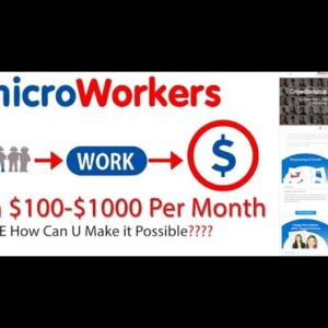 How To Create A Microworkers Account | Bangla Tutorial | Update 2021