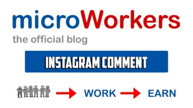 Instagram Comment $0.10 | Microworkers | Microsolution