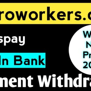 New Microworkers Payment Proof | Microworkers Withdrawal Pending | Microworkers Transpay Withdrawal