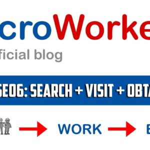 TTV Spseo6 Search + Visit + Obtain Info | Microworkers | Microsolution