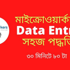 How to microworkers data entry jobs bangla tutorial 21