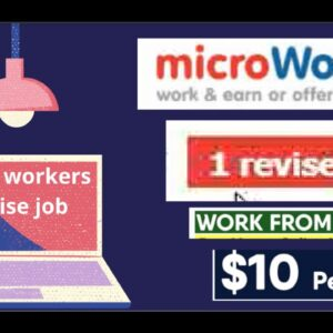 microworkers.com revise job